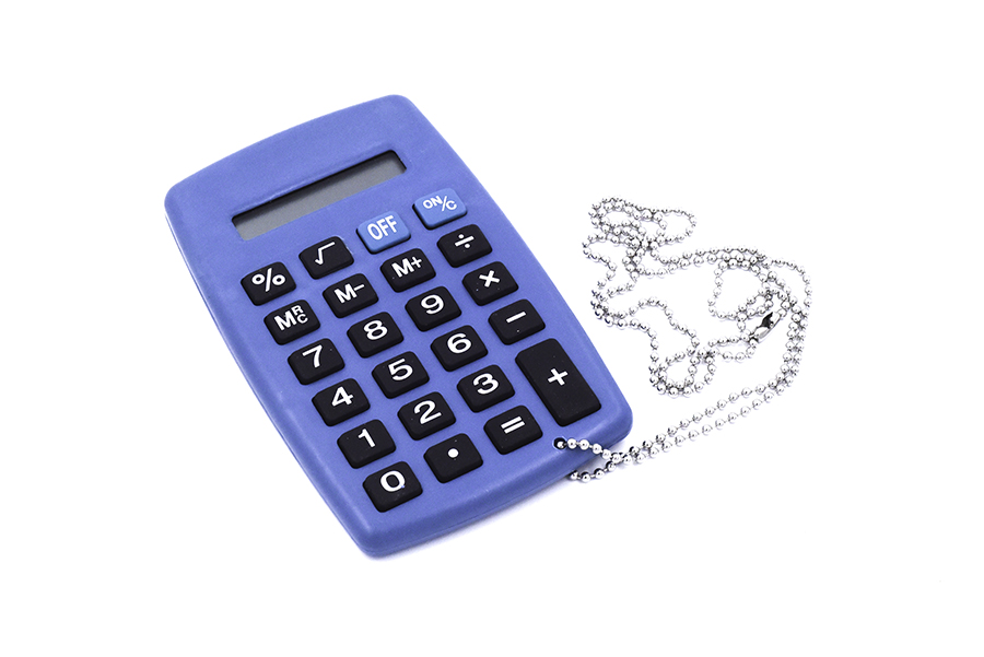 Metal detectable calculator