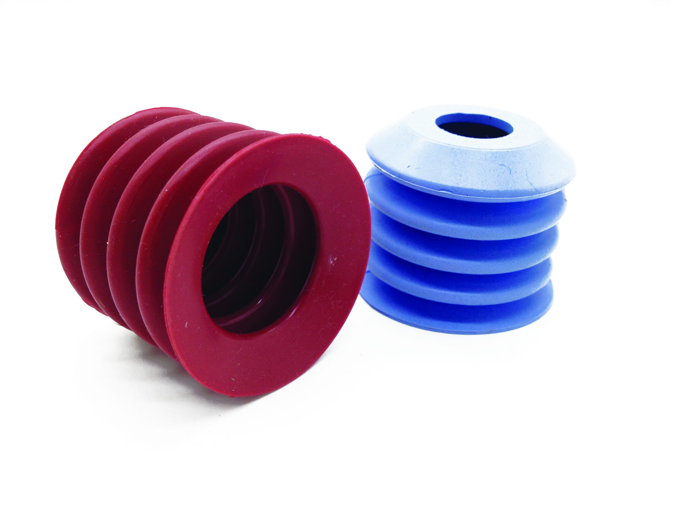 Detectapro Suction cups in Blue and Red