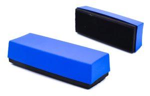 Metal detectable dry erase eraser